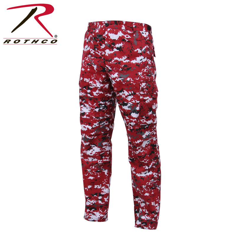 Rothco Red Digital Camo Tactical BDU Pants