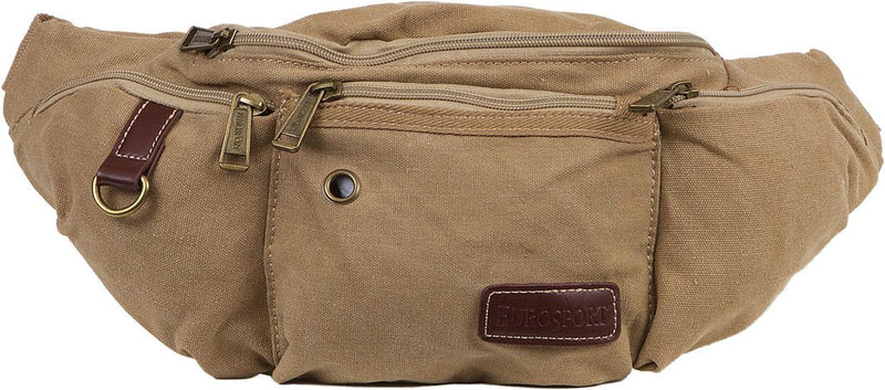 Military Style Canvas Fanny Pack- B500