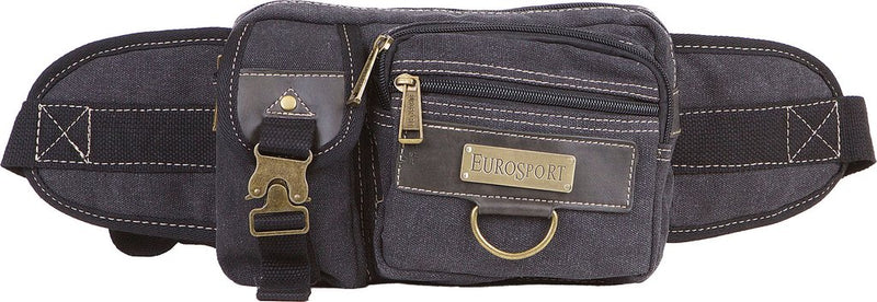 Military Style Canvas Fanny Pack- B501