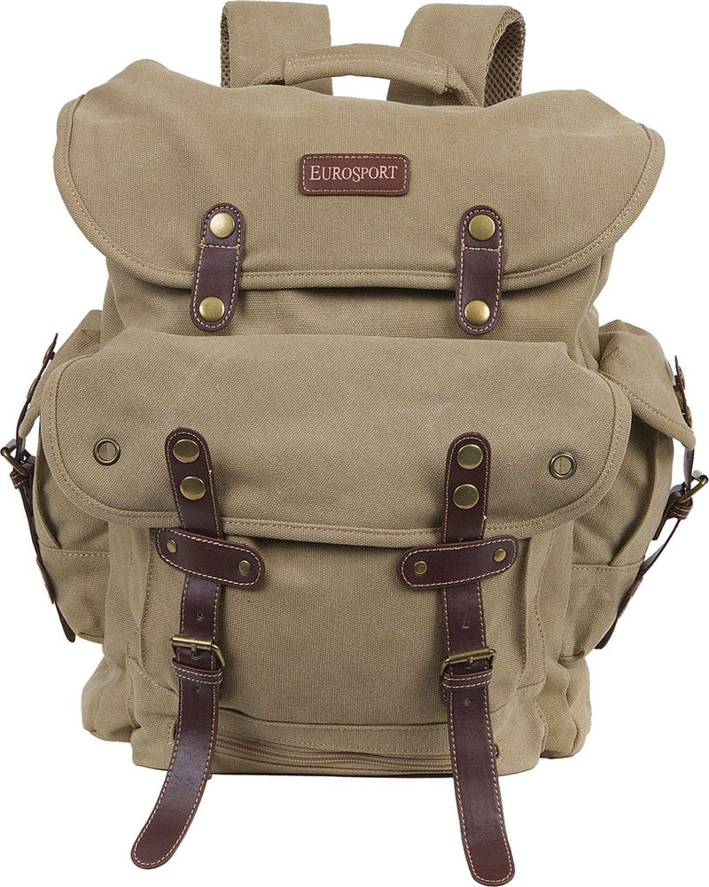 Military Style Canvas Backpack- B704