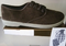 Zig Zag Brown Microfiber lace up shoe