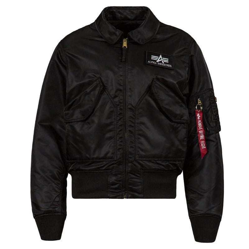 Alpha CWU 45/P Flight Jacket-Black