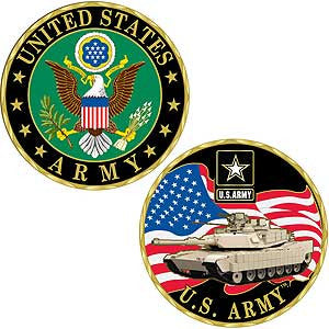 Challenge Coin- U.S. Army