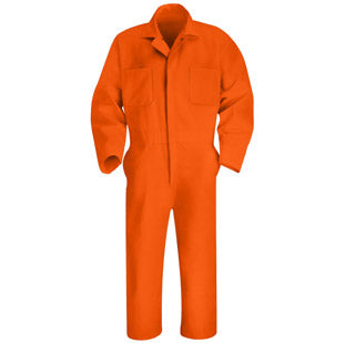 Red Kap Twill Action Back Coverall- ORANGE