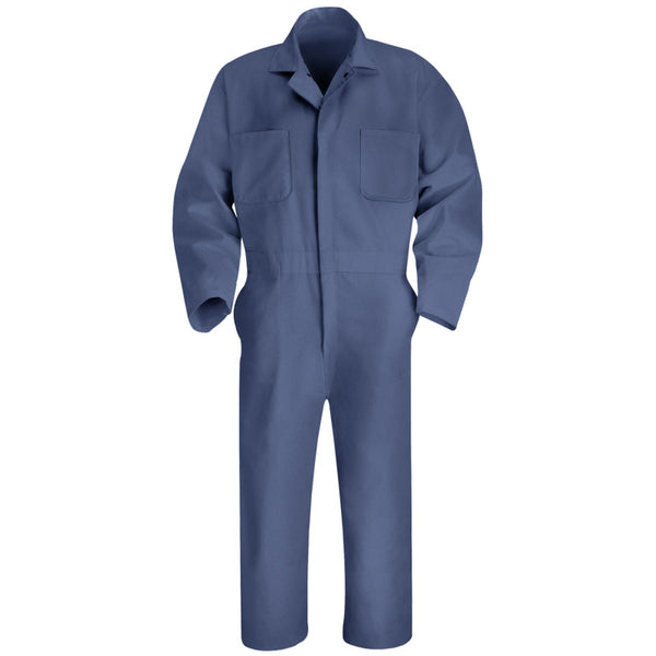 Red Kap Twill Action Back Coverall- POSTMAN BLUE