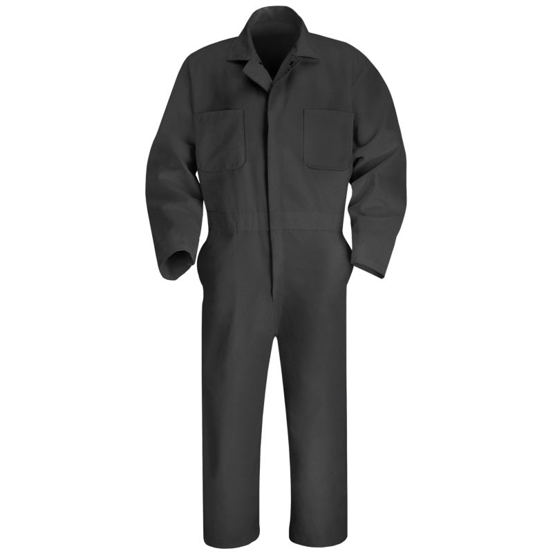Red Kap Twill Action Back Coverall- CHARCOAL