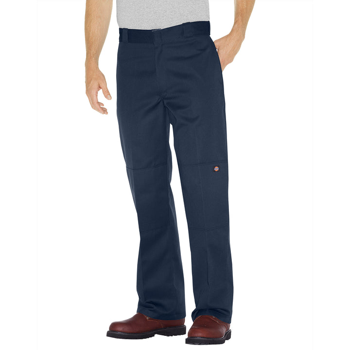 85283- Dickies Double Knee Cell Pocket Work Pant- Dark Navy