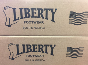 LIBERTY BOOTS- LARRY-  ROMEO- Built in the USA- COFFEE