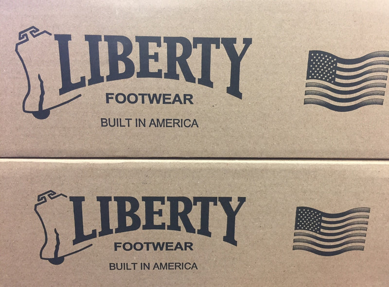 LIBERTY BOOTS- TERRY- WATERPROOF- Built in the USA* - COFFEE