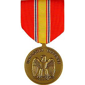 Medal, Mini-Medal, Ribbon- National Defense