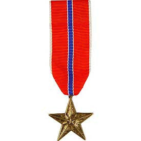 Medal, Mini-Medal, Ribbon- Bronze Star