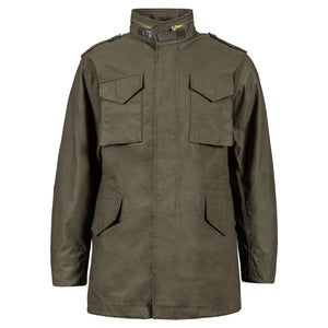 Alpha M65 Field Jacket-Olive Drab- Manufactured to military specifications!  A Classic!