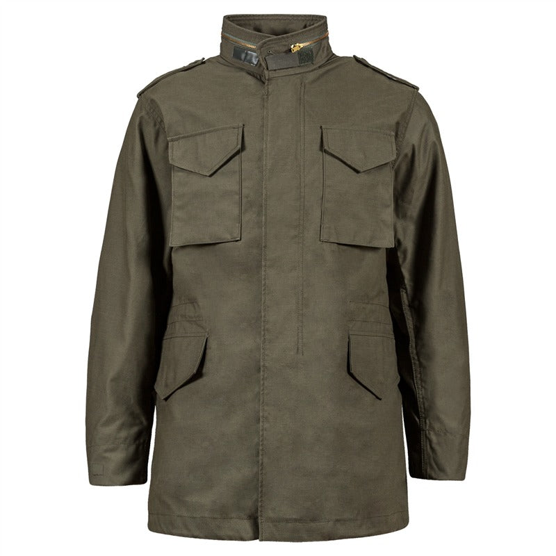 Alpha M65 Field Jacket-Olive Drab- Manufactured to military specifications!  A Classic! 1ba99f367bc
