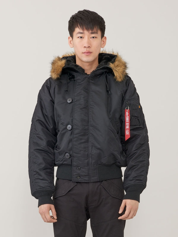 Alpha Industries N2B Shortwaist Parka- Black