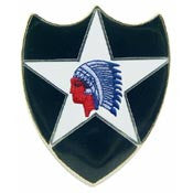 U.S. Army 2nd Divison Pin
