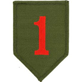 Army- 1st Infantry Division -FREE SHIPPING
