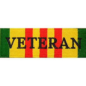 Vietnam-Veteran Ribbon Patch