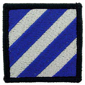 Army- 3rd Infantry Division -FREE SHIPPING