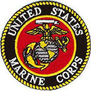 "Marines Logo Patch - 3"" -FREE SHIPPING"