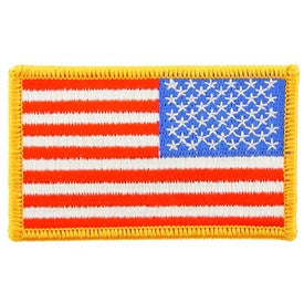 USA Flag Patch- Right Arm- FREE SHIPPING