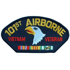 Vietnam- Army 101st Airborne Div. Veteran Hat Patch
