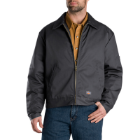 Dickies Lined Eisenhower Jacket- CHARCOAL- TJ15CH