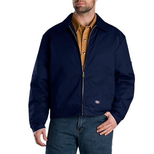 Dickies Lined Eisenhower Jacket- DARK NAVY- TJ15DN