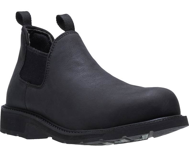 WOLVERINE- MEN'S RANCHERO STEEL-TOE ROMEO- BLACK- W10920