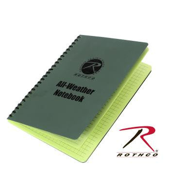 All Weather Notebook- Two Sizes