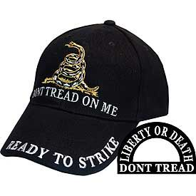 Don't Tread on Me Embroidered Cap