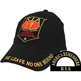 KIA- America Remembers- Embroidered Cap