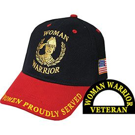 Woman Warrior Embroidered Cap