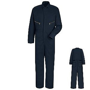 Red Kap Zipper Front Cotton Coverall