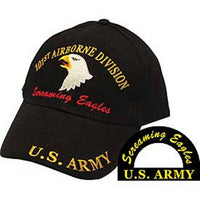 101St Airborne Screaming Eagles Embroidered Cap