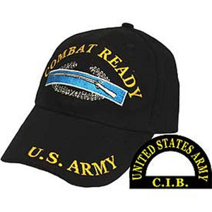 U.S. Army Combat Ready Embroidered Cap