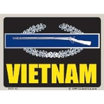Vietnam CIB Decal