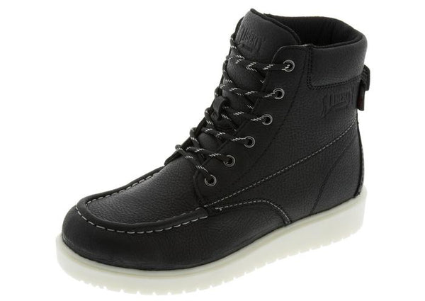 Liberty Boots- Gary Black Moc Toe- Built in the USA