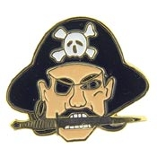 Pirate Head Pin