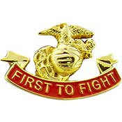 U.S. Marine Corps- First to Fight Pin