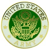 U.S. Army Logo Pin