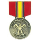 National Defense Medal Pin