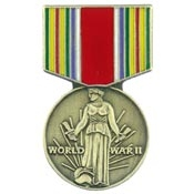 WWII Victory Medal Pin