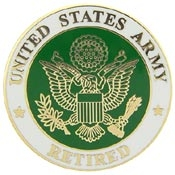 U.S. Army Logo Retired Pin