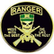 U.S Army Ranger  Mess with the best, Die like the rest Pin
