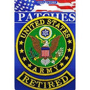 "Army Logo Patch - 3"" Retired -FREE SHIPPING"