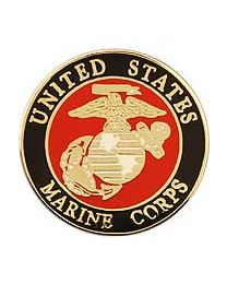 PIN-USMC LOGO A (MINI)- 1/2""