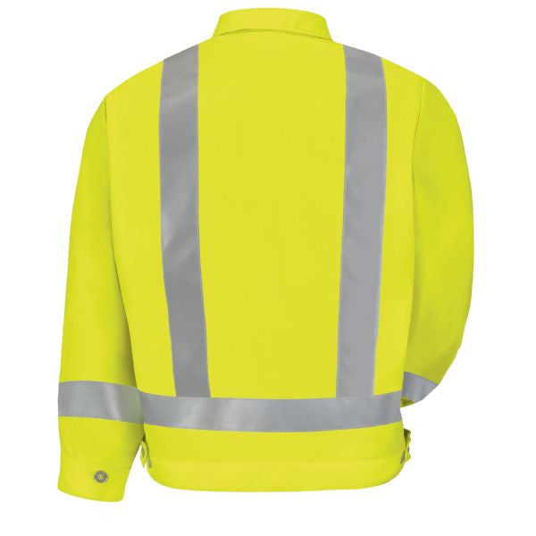 Red Kap Hi-Visibility Ike Jacket- Class 2 Level 2