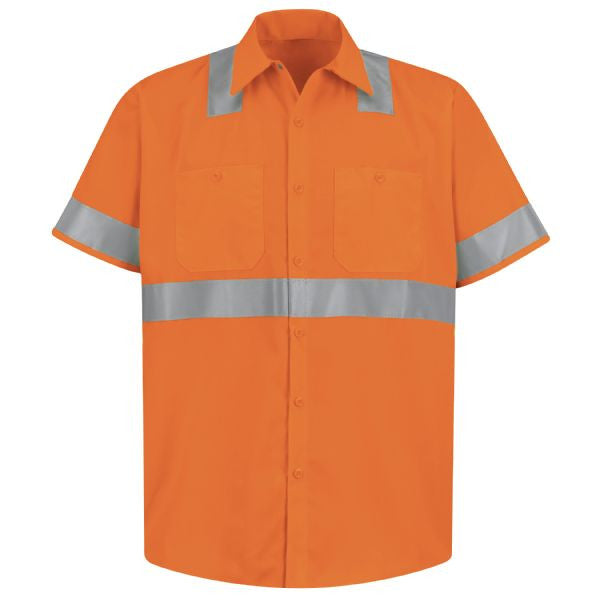 Red Kap Hi-Visibility Work Shirt- Class 2 Level 2