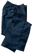 Dickies Women's Side Elastic Pant.  Black Only.Unhemmed
