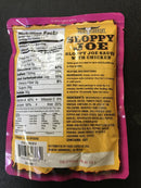 BACK COUNTRY SLOPPY JOE - (11.25 OZ)-  3 YEAR SHELF LIFE